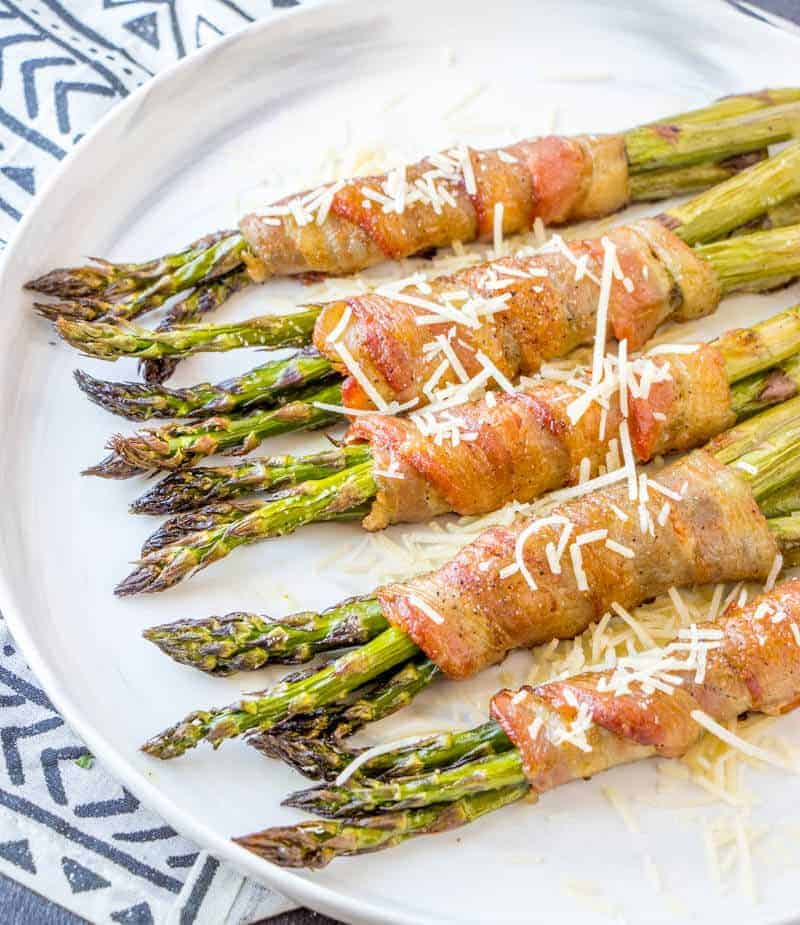 Bacon Wrapped Asparagus Tornadough Alli