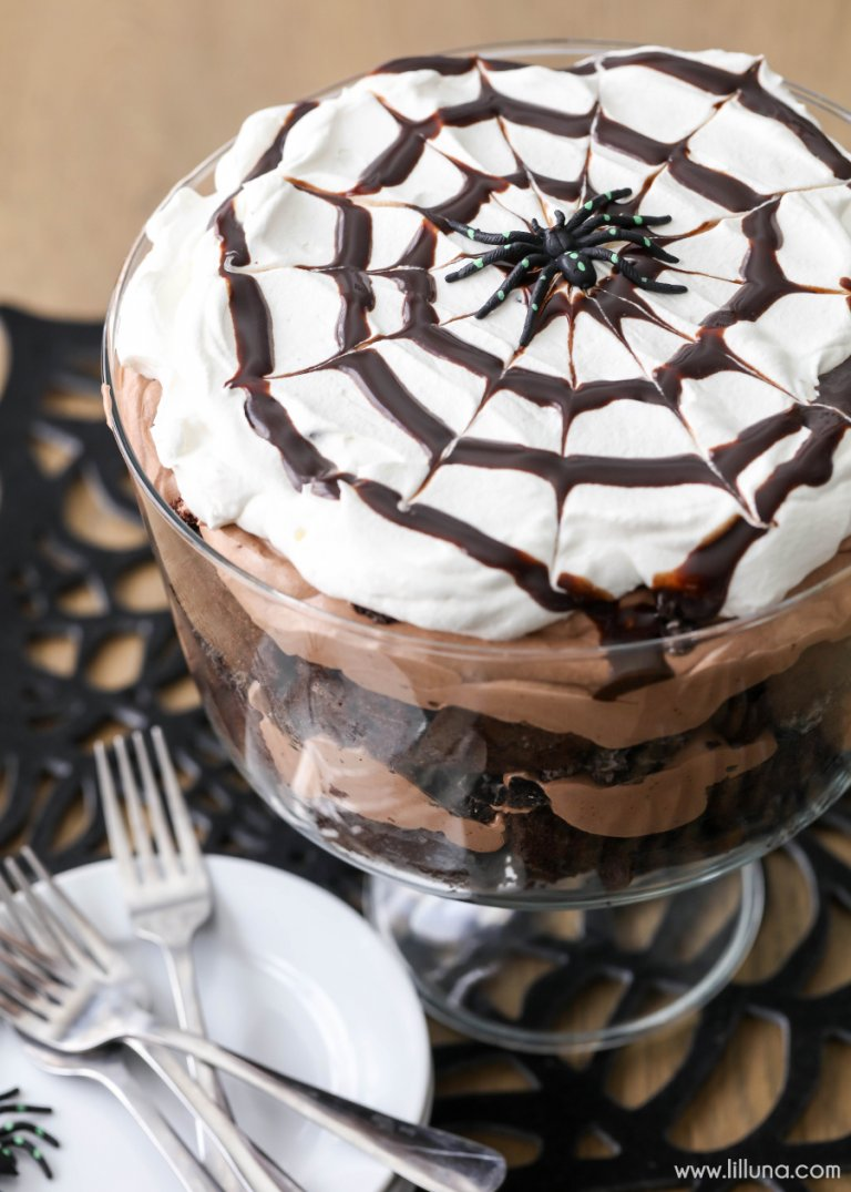 Chocolate Spider Trifle Lil Luna