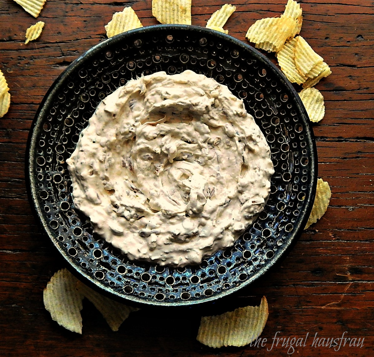 Classic French Onion Dip Frugal Hausfrau