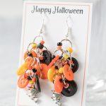 DIY Halloween Earrings