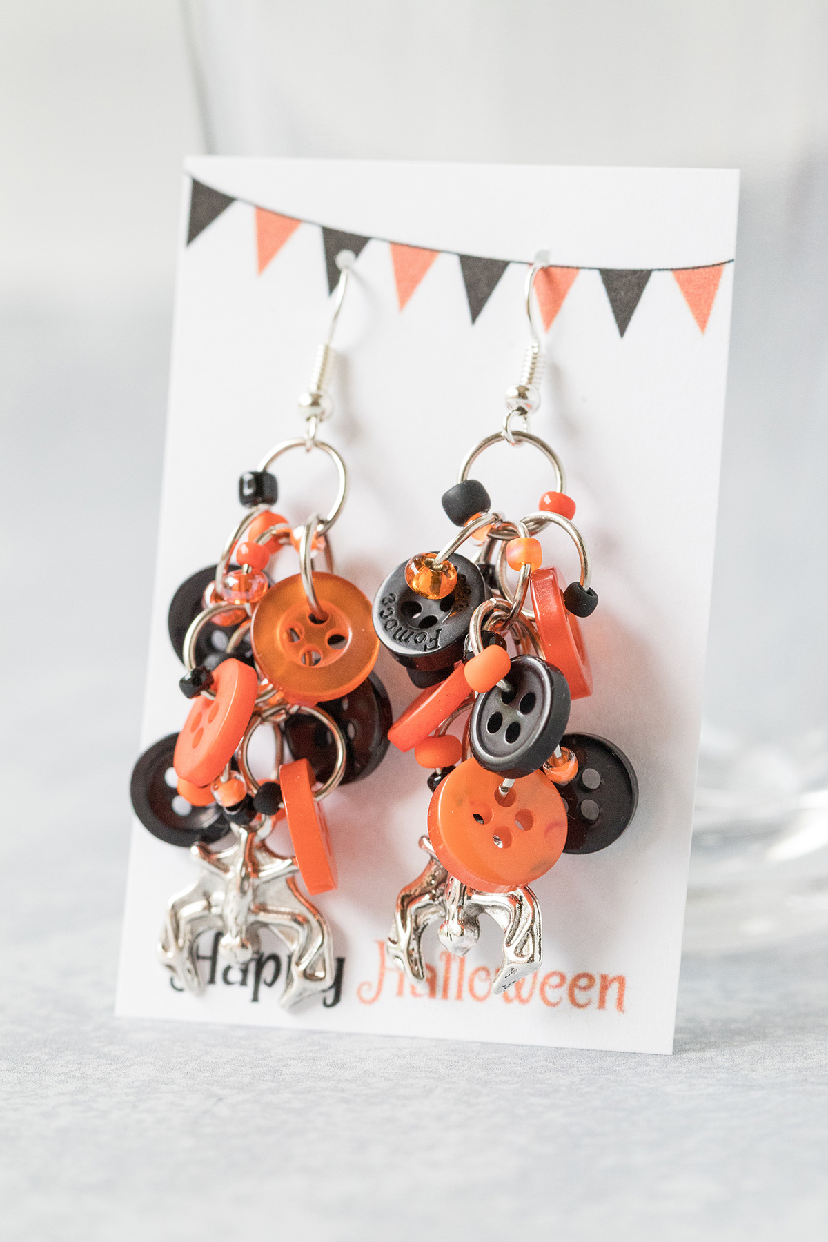 DIY Halloween Earring