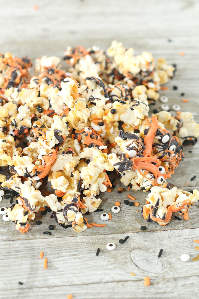 Halloween Popcorn The Country Chic Cottage