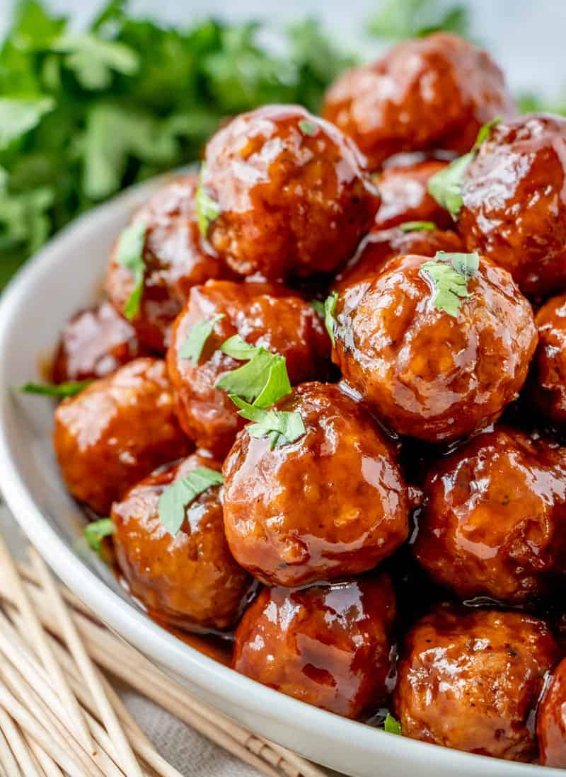 Honey Barbecue Crockpot Meatballs Tornadough Alli