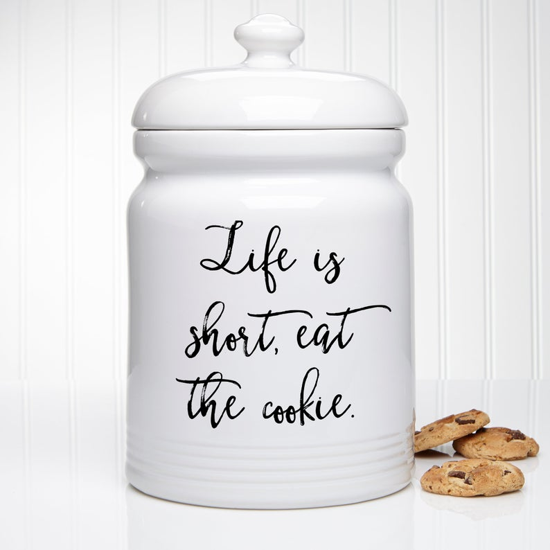 Kitchen Expressions Personalized Cookie Jar PersonalizationMall