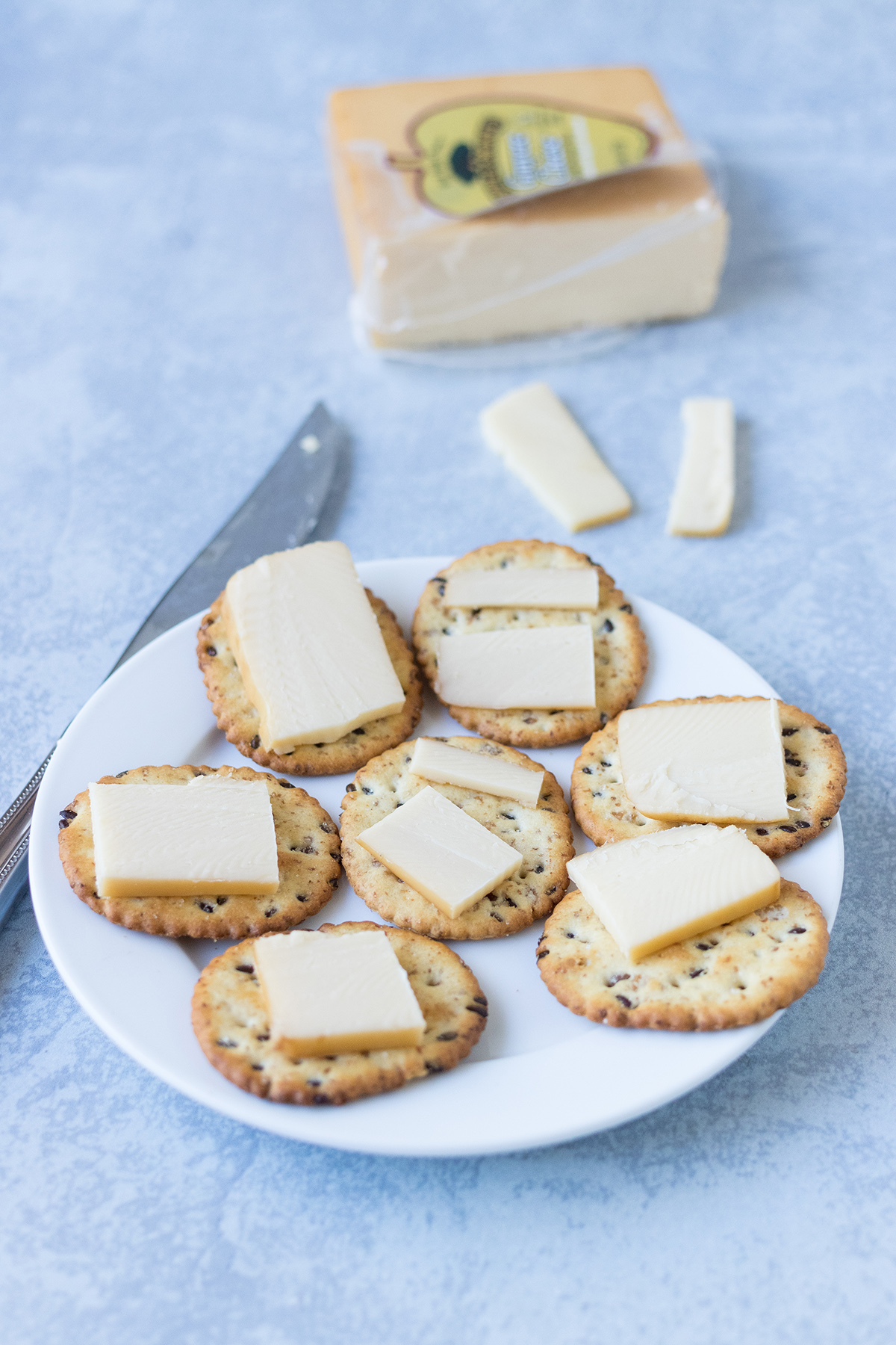 Whole Grain Crackers and Cheese