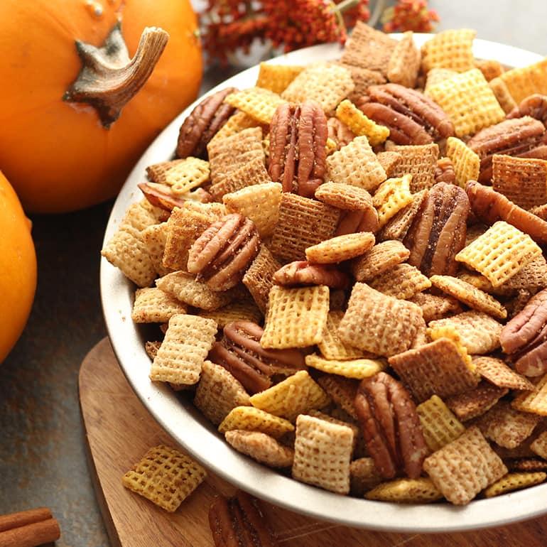 Pumpkin Spice Chex Mix chex.com