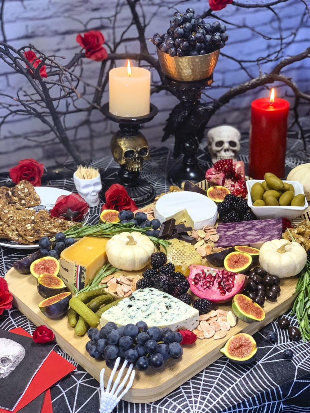 Spooky Halloween Cheese Board Best Day of the Week