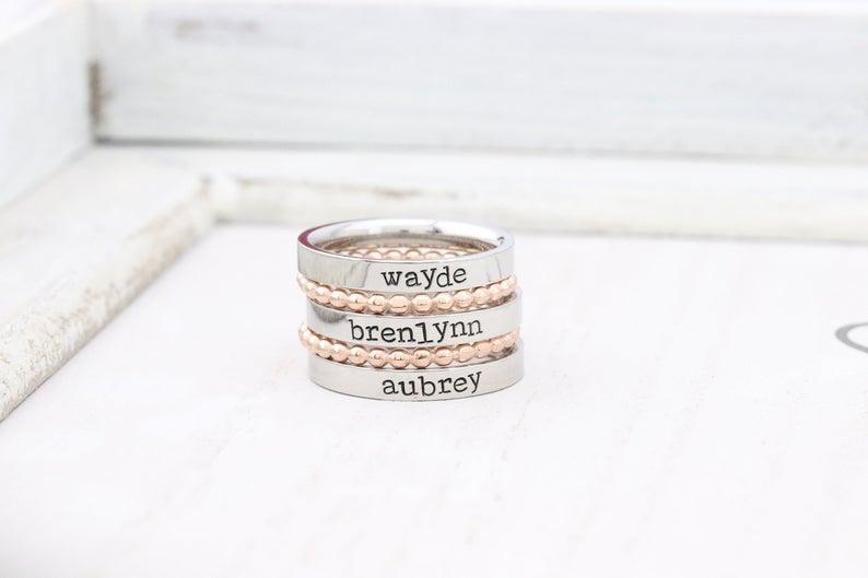 Stackable Ring DesignsByKaramarie
