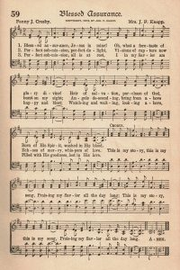 The American Hymnal Blessed Assurance Sheet Music
