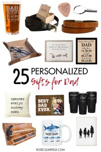 25 Personalized Gifts for Dad