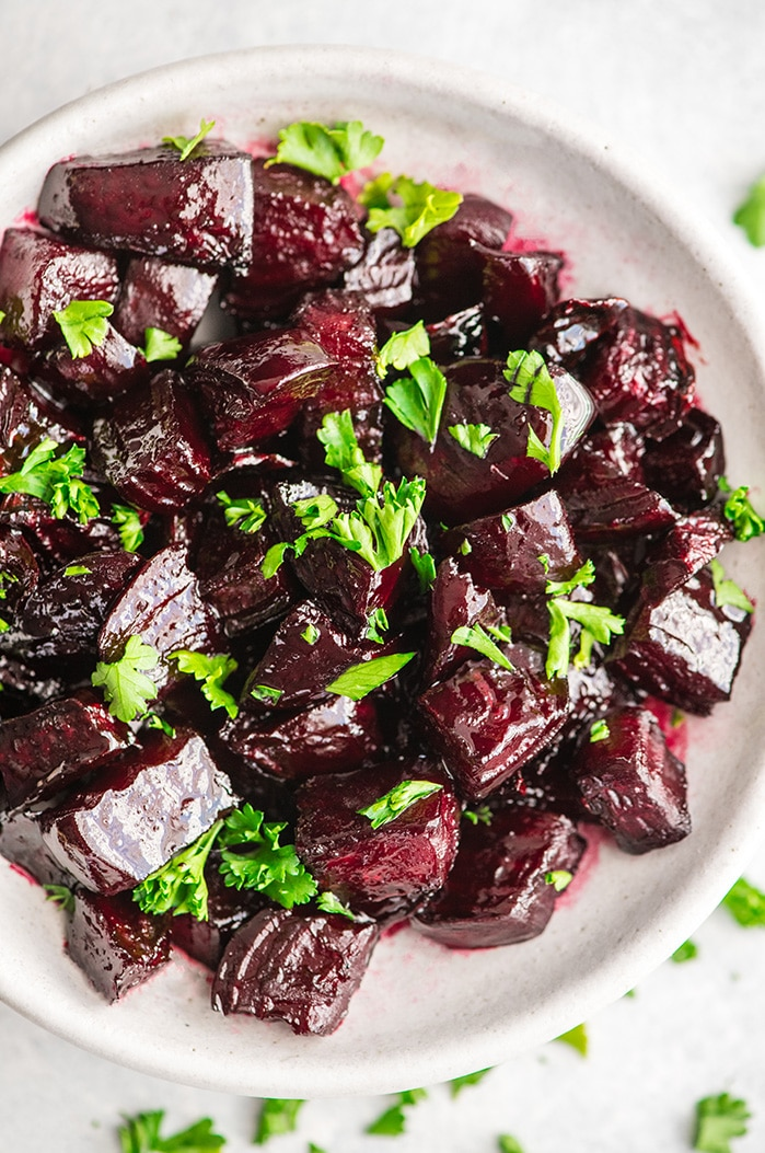 Balsamic Roasted Beets Recipe Joy Food Sunshine