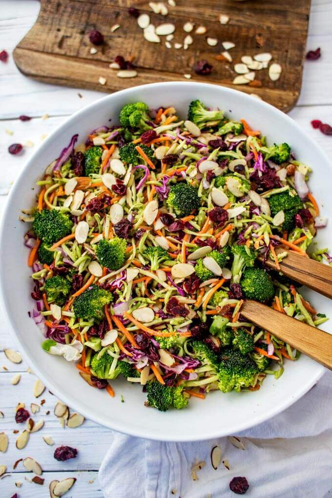 Broccoli Slaw Salad Wendy Polisi