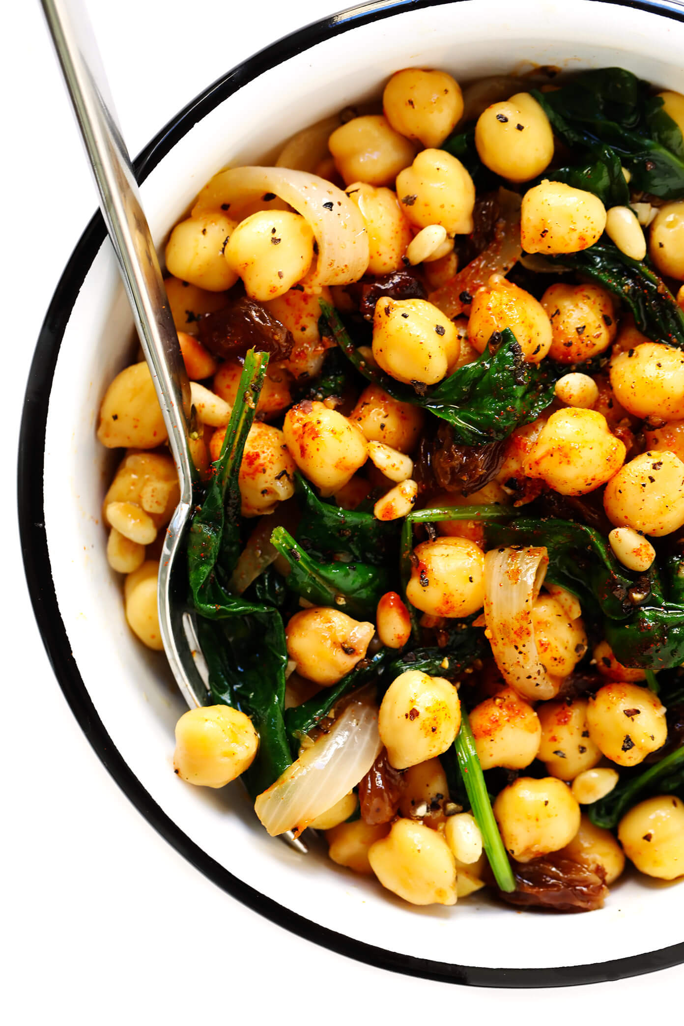Catalan Chickpeas with Spinach Gimme Some Oven