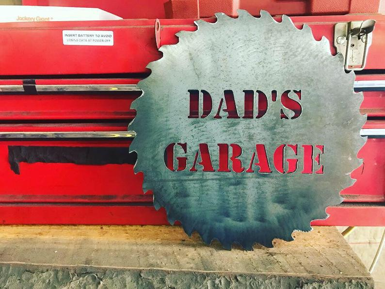 Dad Garage Sign AmericanAftermarkets on Etsy