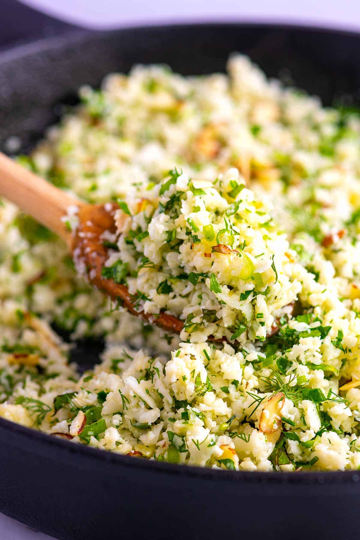 Garlic Herb Cauliflower Rice Inspired Taste
