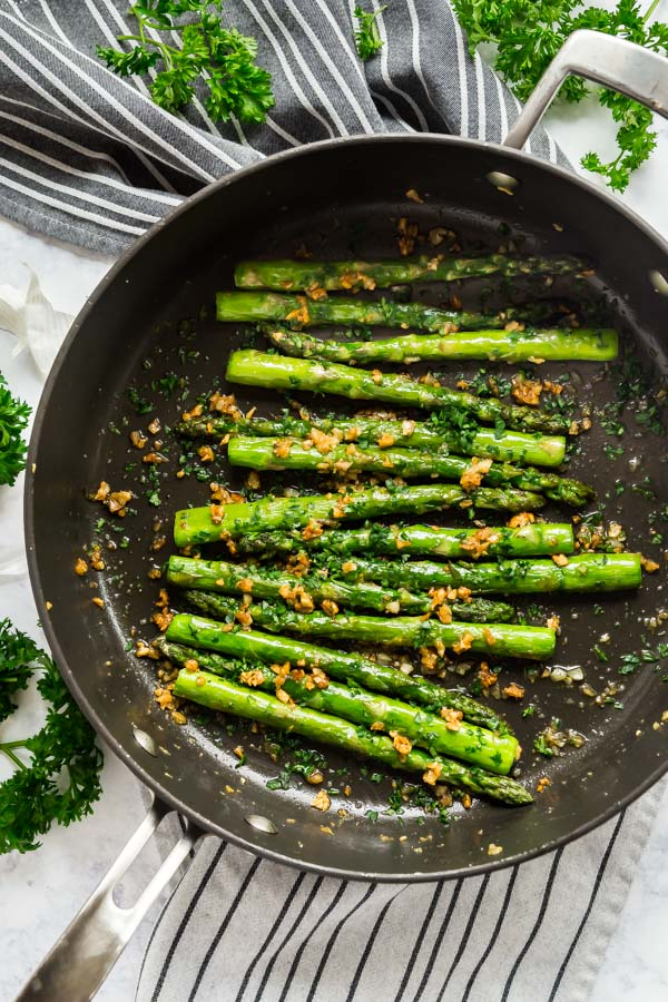 Garlic Sauteed Asparagus Recipe The Life Jolie