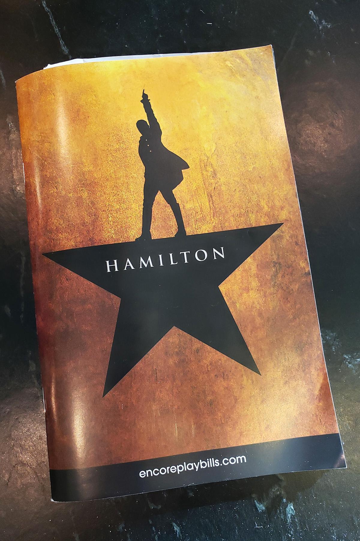 Hamilton Program Fall 2019