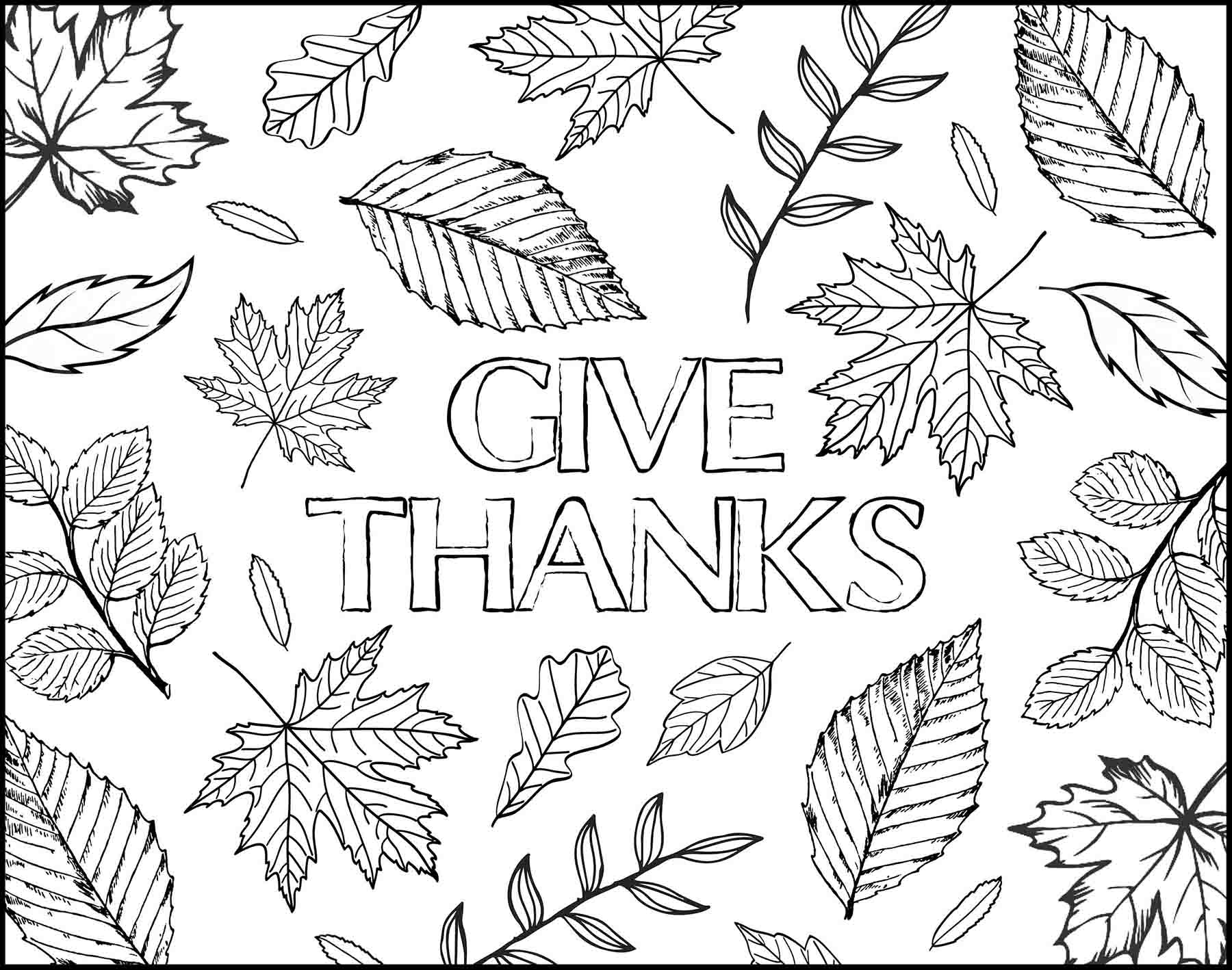 Thanksgiving Leaves Placemat