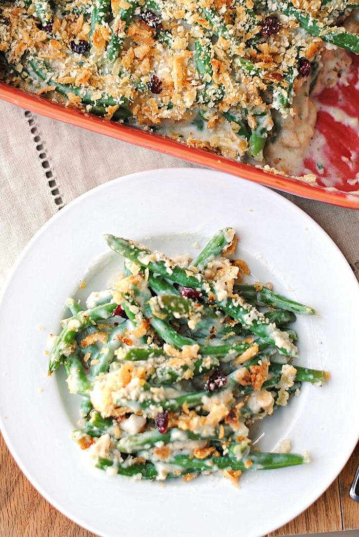 Lightened Up Green Bean Casserole Eat Yourself Skinny
