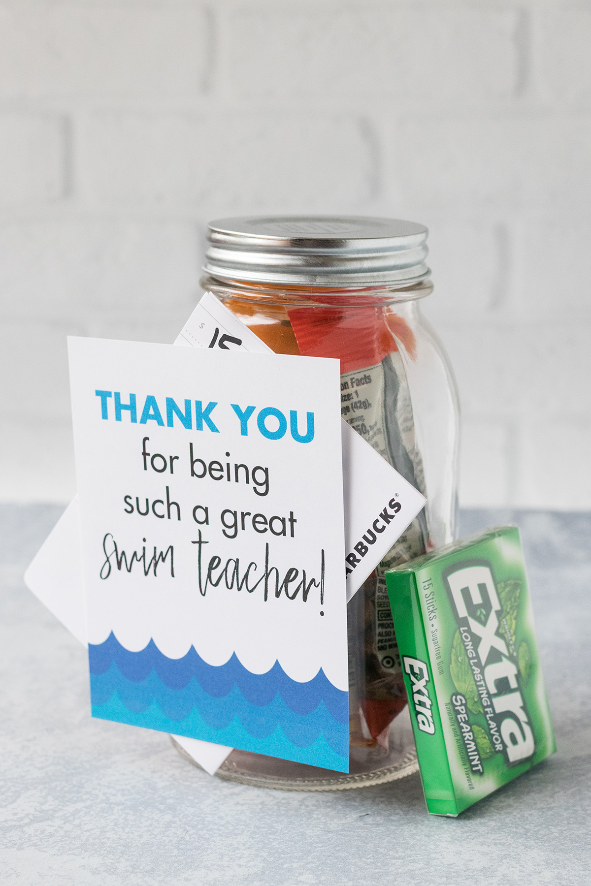 Free Printable Swim Teacher Coach Thank You Cards Rose Clearfield