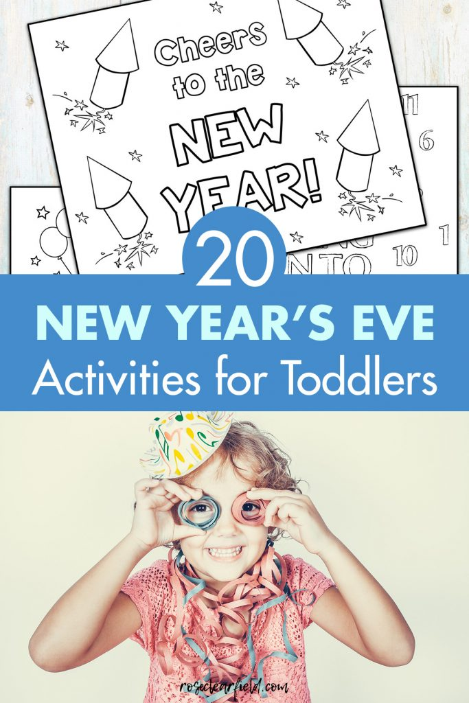 20 New Year's Eve Activities for Toddlers