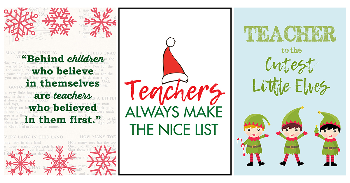 Free Printable Teacher Thank You
