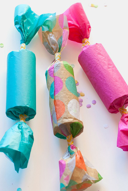 Homemade Party Poppers Craftaholics Anonymous
