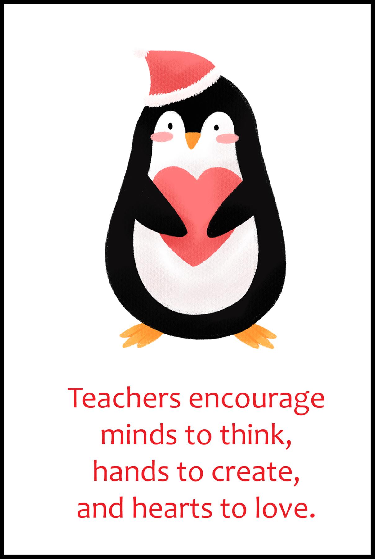 Teachers Encourage Minds to Think