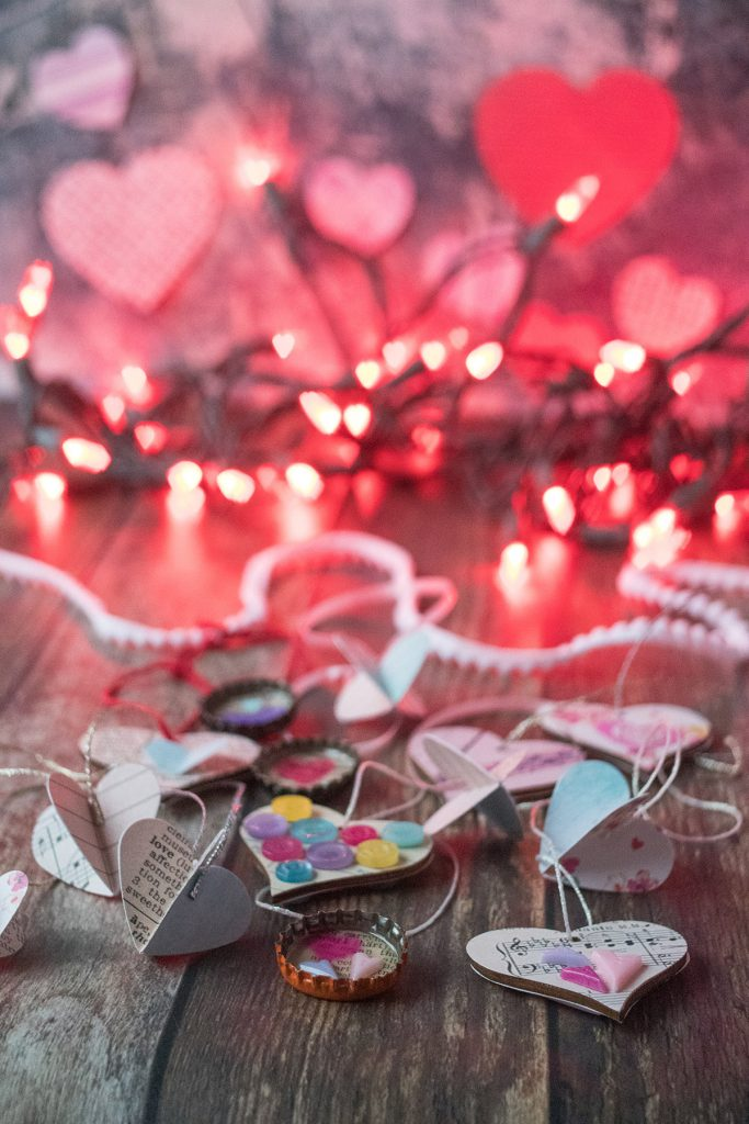 DIY Valentine's Day Ornaments