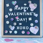 DIY Valentine's Day Vintage Dictionary Magnets