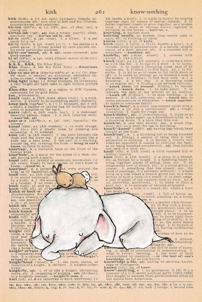 Elephant Nursery Decor Sleeping