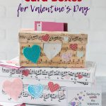 DIY Sheet Music Card Boxes for Valentine's Day