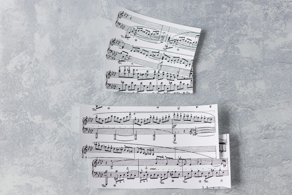 Sheet Music for a DIY Project