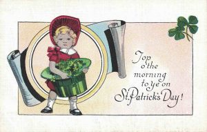 Vintage Postcard St. Patrick's Day