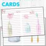 12 Free Printable Spring Recipe Cards