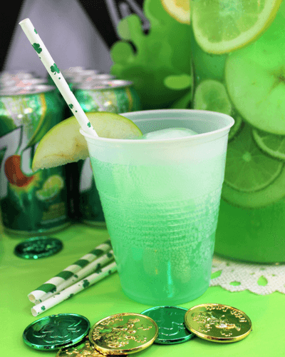 7Up Green Apple Lemonade Spritzer Simply Made Recipes
