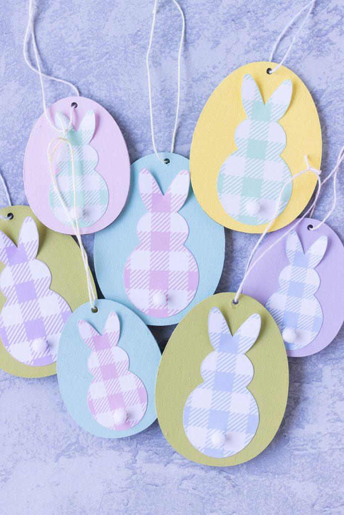 DIY Easter Egg Bunny Ornaments