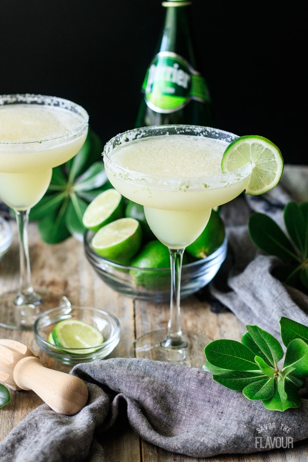 Frozen Virgin Margarita Savor the Flavour