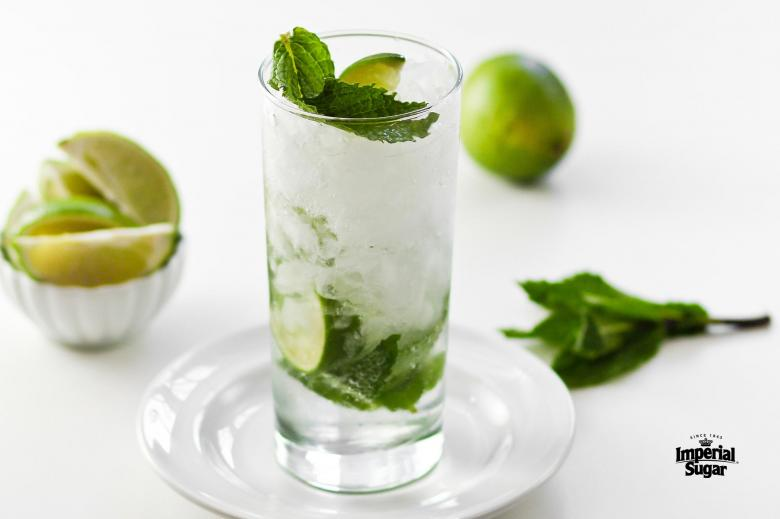 Mint Mojito Mocktail Imperial Sugar