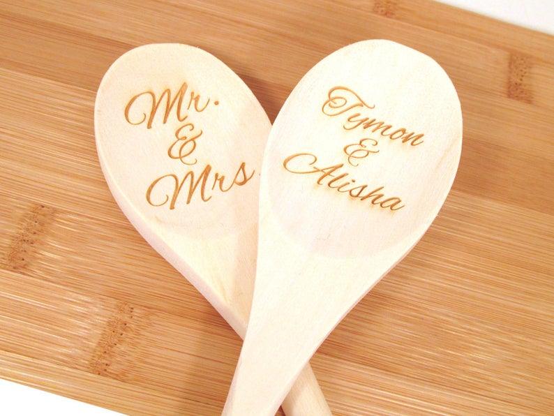 Personalized Wooden Spoon Memoriesforlifesb on Etsy