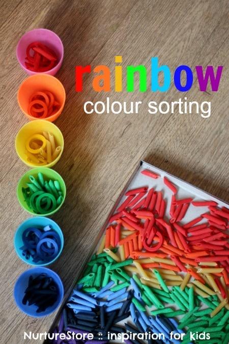 Rainbow Color Sorting NurtureStore