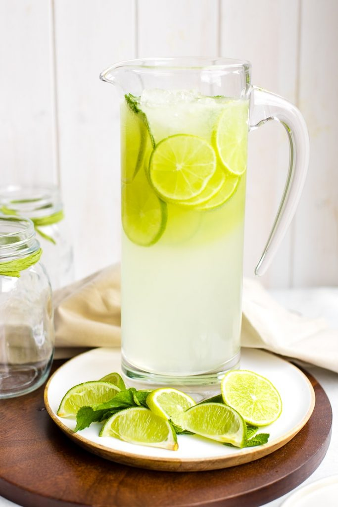 Sparkling Limeade Nourish and Fete