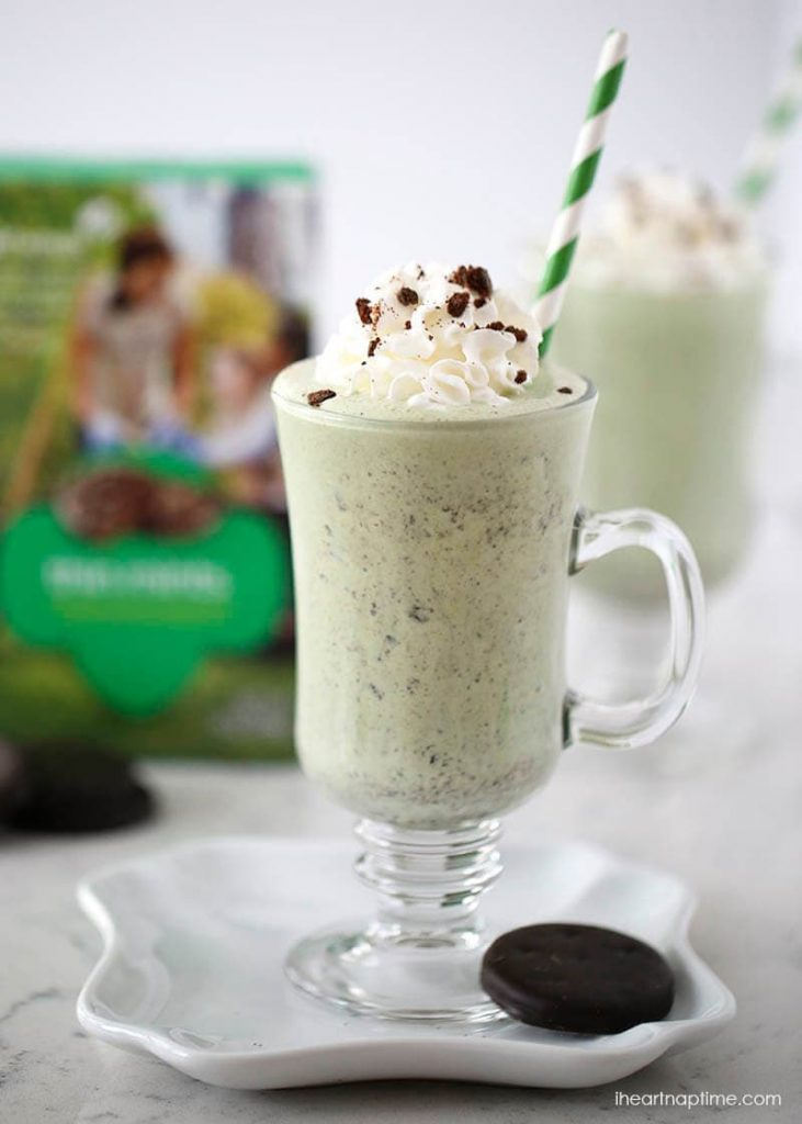 Thin Mint Milkshake I Heart Nap Time