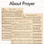 25 Free Printable Vintage Hymns About Prayer