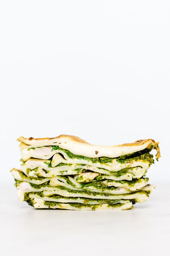 Chick and Spring Vegetable Lasagna I am a Food Blog