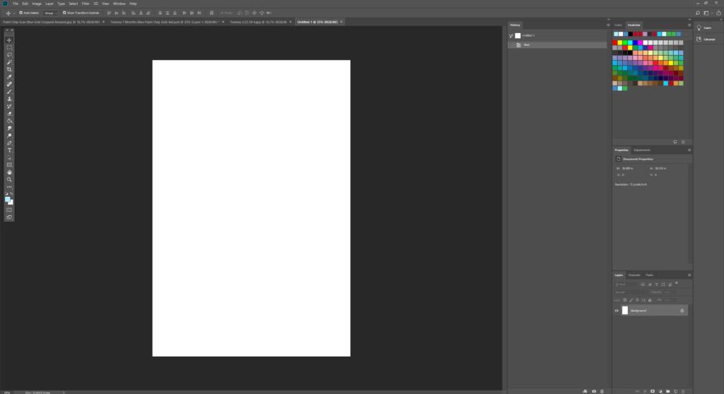 New Photoshop Document
