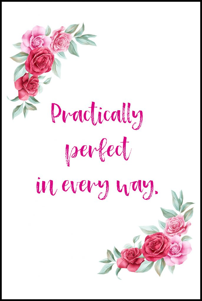 Practically Perfect in Every Way Mother's Day Card