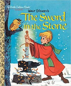 The Sword and the Stone Little Golden Books