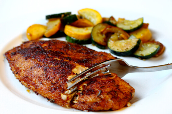 10 Minute Blackened Tilapia Gimme Some Oven