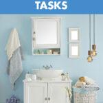 20 Deep Cleaning Bathroom Tasks